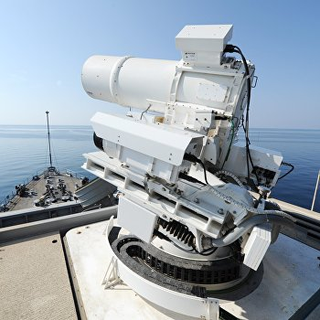 ВМС США лазер LaWS Laser Weapons System