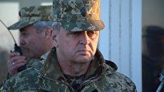 Глава Генштаба Минобороны Украины Виктор Муженко