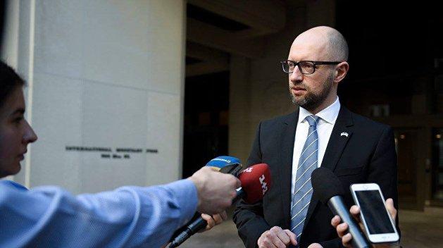 Яценюк: Вопрос объединения с БПП не стоял на повестке дня