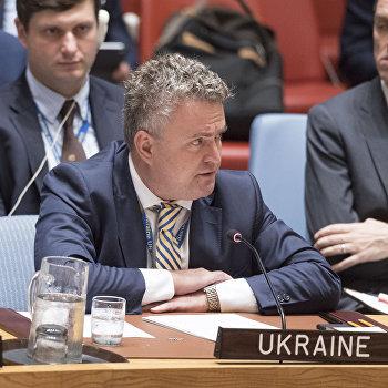 Заместитель министра иностранных дел Украины Сергей Кислица ООН