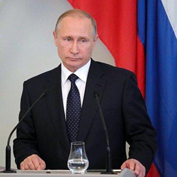 Рабочая поездка президента РФ В. Путина в Финляндию