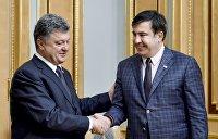 Саакашвили оказался первым другом, которого посадят