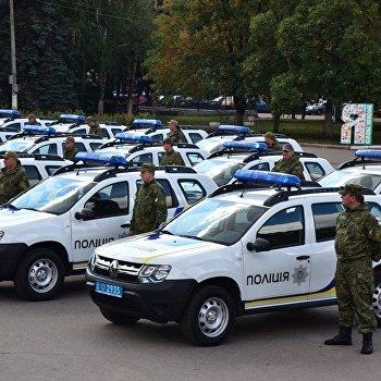 украина полиция автомобиль машина