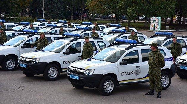ВУкраинском государстве устранили дорожную полицию