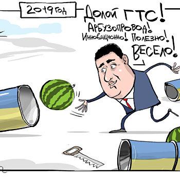 карикатура гройсман арбузопровод