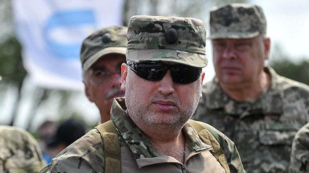 Турчинов признался во лжи об украинской армии