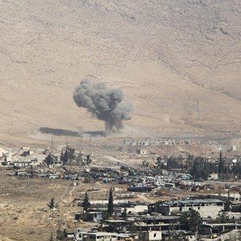 Спецоперация сирийской армии в городе Хараста