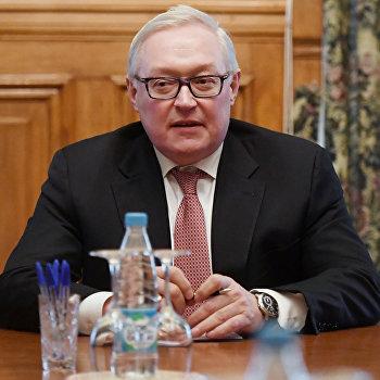 Заместитель министра иностранных дел РФ С.Рябков встретился с заместителем министра иностранных дел Ирана А.Аракчи