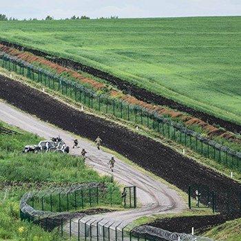 Граница Украины с Россией, построенная Яценюком