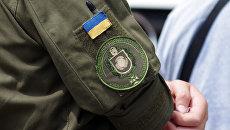 Шеврон сотрудника Национальной гвардии Украины