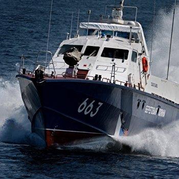 Многосторонние учения береговой охраны Совместный удар в Приморье