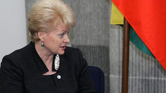 Президент Литвы заверила Порошенко вподдержке санкций против Российской Федерации
