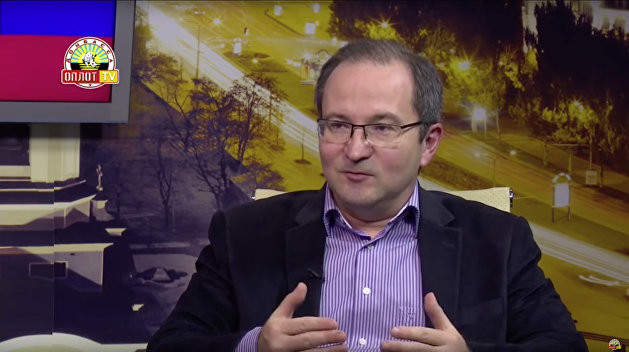 Рамиль Замдыханов донецкий тележурналист
