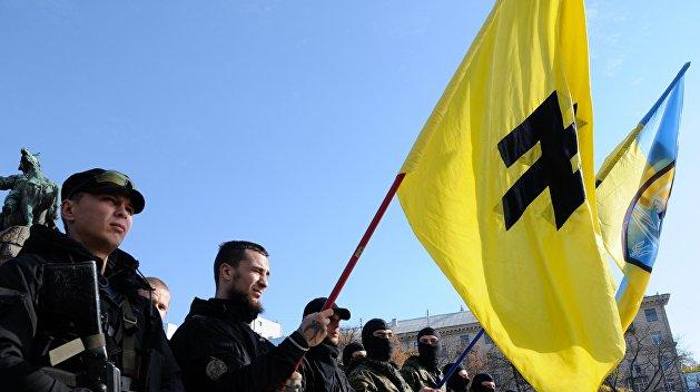 Украинский главнокомандующий посетил иностранных наемников в Донбассе
