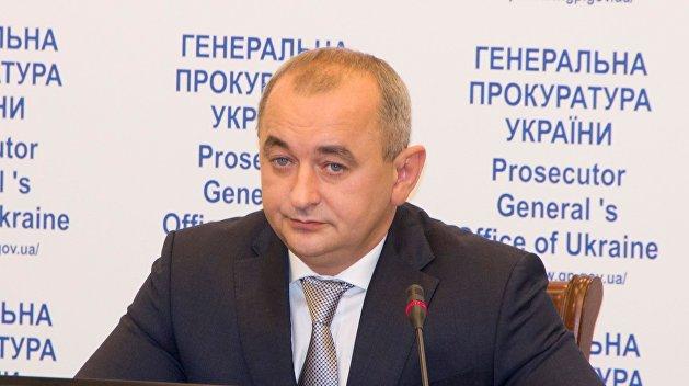 прокурор Украины Анатолий Матиос