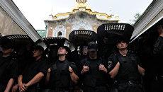 Неизвестные сорвали крестный ход против войны и интеграции Украины в Евросоюз
