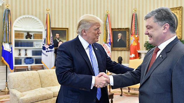 Визит президента Украины П. Порошенко в США