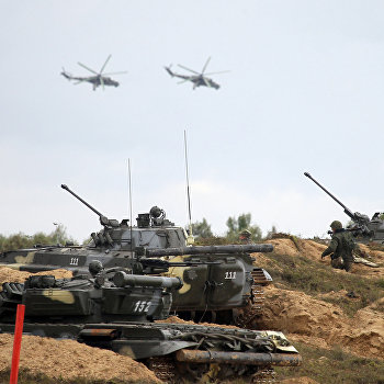 Учения вооруженных сил России и Белоруссии Запад-2013