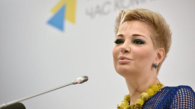 Пресс-конференция М. Максаковой в Киеве