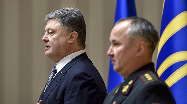 Порошенко заявил о «неопровержимых доказательствах» вины Рубана