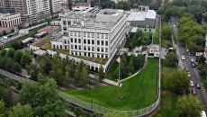 Ситуация на территории посольства США в Киеве