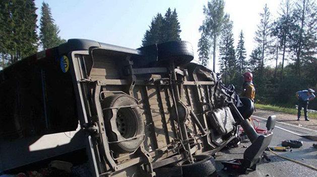 ДТП вПольше: двое украинцев погибли, пятеро вреанимации