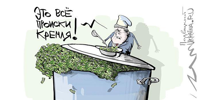 Карикатура Порошенко