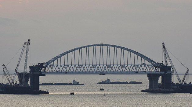 Руководство Крыма назвало претензии Украины из-за моста «гиблым мероприятием»