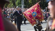 порошенко флаг день независимости киев