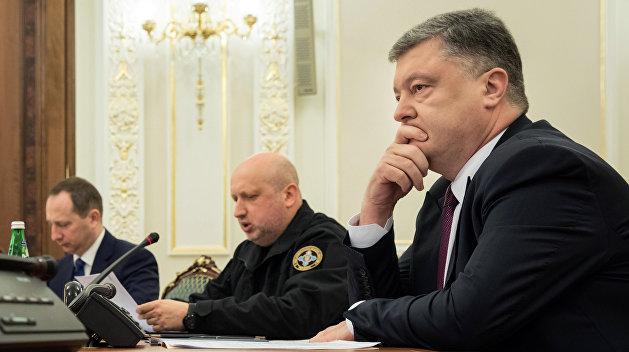 ВУкраинском государстве  начали сбор подписей заимпичмент Порошенко