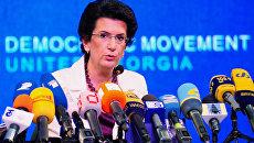 Бурджанадзе: Грузинская власть боится  пускать Саакашвили на родину