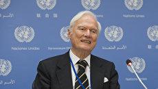 Idriss Jazairy Спецдокладчик ООН по вопросу о негативном воздействии односторонних принудительных мер на осуществление прав человека Идрис Джазаири