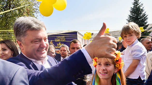 Лайки для Порошенко: ручные пропагандисты президента