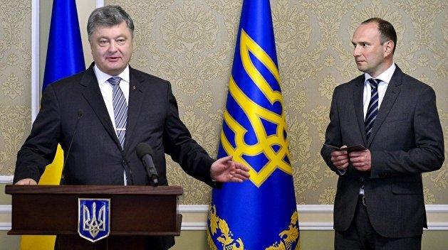 Петр Порошенко подписал указ о назначении Егора Божка председателем Службы внешней разведки Украины