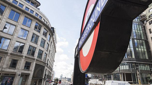 Часть веточки английского метро перекрыта из-за инцидента