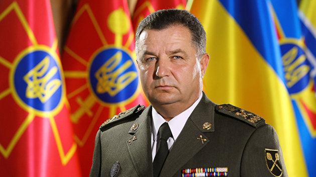 На Украине поссорились два министра обороны