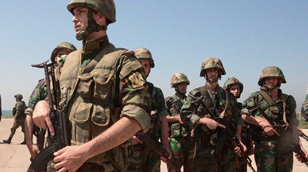 Военнослужащие 56-й бригады надводных кораблей военно-морских сил Сирии