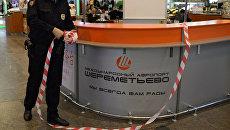Проверка пассажиров и багажа в аэропорту Шереметьево