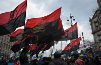 Бандеровские флаги будут реять над Киевом 13 раз в году