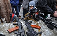 Украинцы не спешат добровольно сдавать оружие