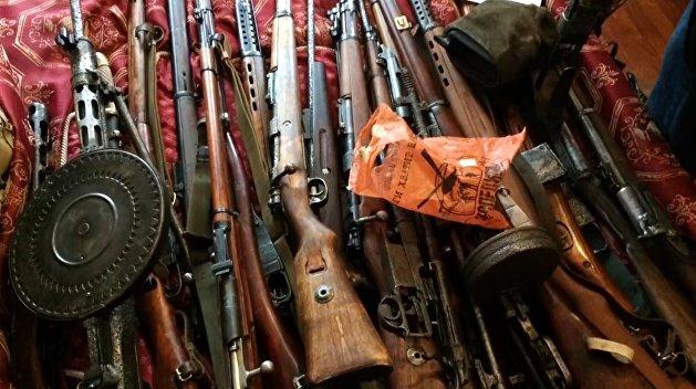 ФСБ пресекла контрабанду оружия из ЕС и Украины: изъята авиационная пушка