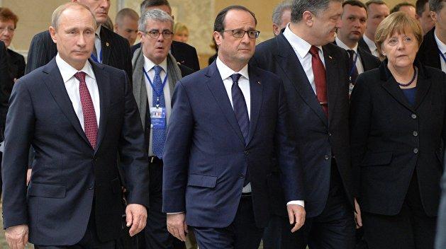 ВКремле поведали оперспективы встречи «нормандской четверки» навысочаешем уровне