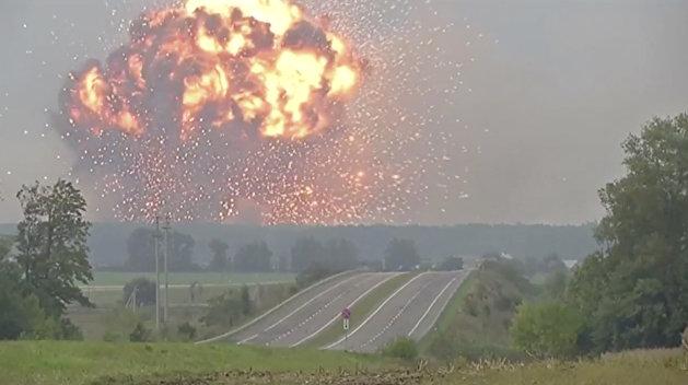 Суд нашел крайнего в пожарах на складах в Калиновке