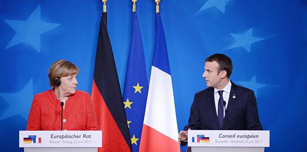 Макрон и Меркель выступили против Малороссии