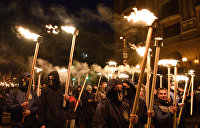 В Киеве неонацисты пытаются снести православный монастырь