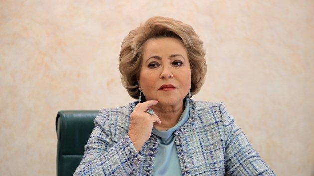 Матвиенко: Россия заставит Украину убрать дискриминационные нормы из закона об образовании