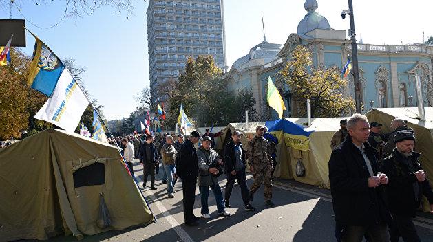 Саакашвили собирает вече уВерховной рады
