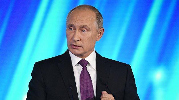 Российская Федерация делает новые системы вооружения «без атома»— Путин