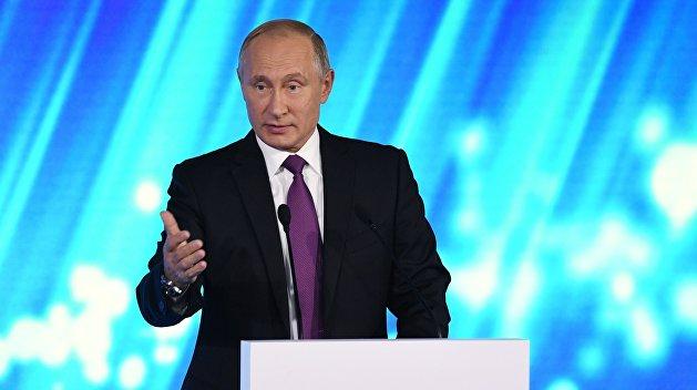 Путин: Порошенко несможет выполнить Минские соглашения