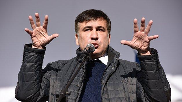 С одним седлом на две ярмарки: Саакашвили решил сменить власти в Грузии и на Украине